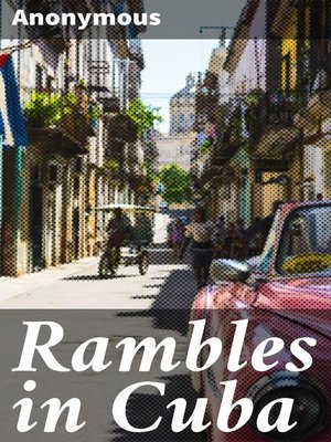 cover image of Rambles in Cuba