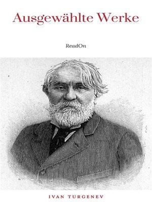 cover image of Ausgewählte Werke von Turgenew