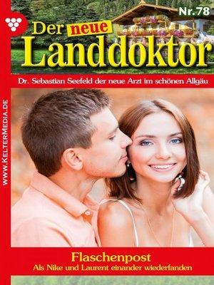 cover image of Der neue Landdoktor 78 – Arztroman