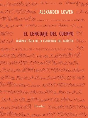 cover image of El lenguaje del cuerpo
