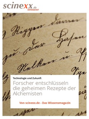 cover image of Alchemie