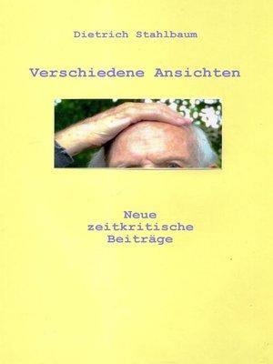 cover image of Verschiedene Ansichten