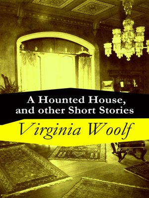 cover image of A Hounted House, and other Short Stories