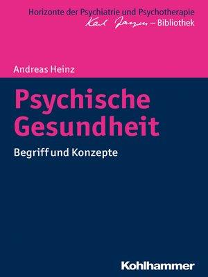 cover image of Psychische Gesundheit