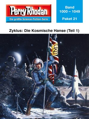 cover image of Perry Rhodan-Paket 21