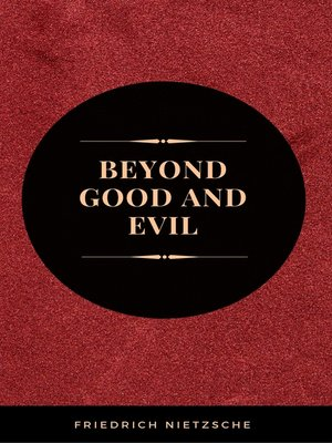 cover image of Beyond Good and Evil