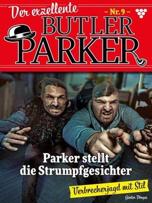 cover image of Der exzellente Butler Parker 9 – Kriminalroman
