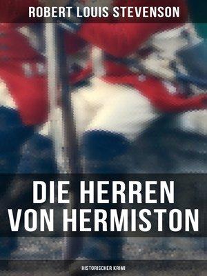 cover image of Die Herren von Hermiston