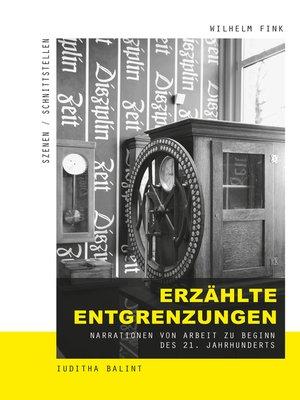 cover image of Erzählte Entgrenzungen