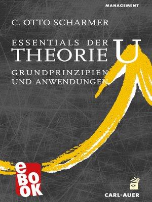 cover image of Essentials der Theorie U