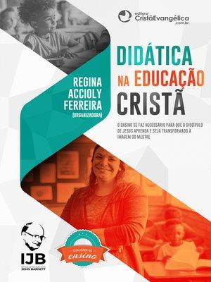 cover image of Didática na Educação Cristã
