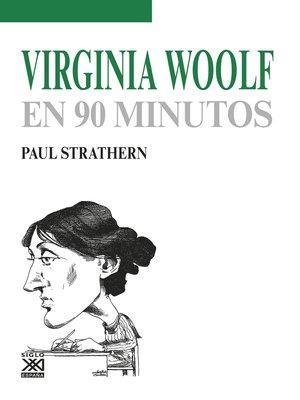 cover image of Virginia Woolf en 90 minutos