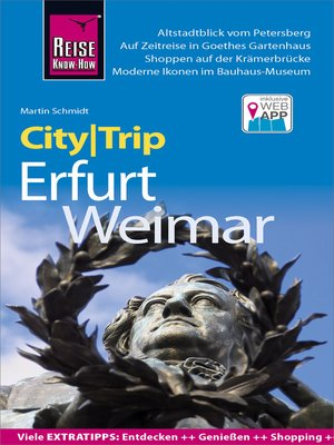cover image of Reise Know-How CityTrip Erfurt und Weimar