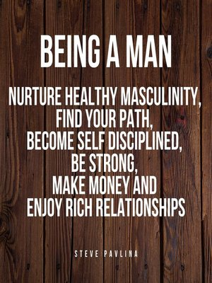 cover image of Being a Man