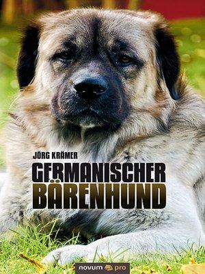 cover image of Germanischer Bärenhund