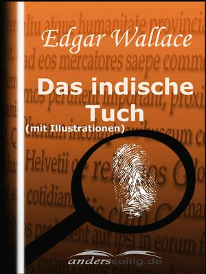 cover image of Das indische Tuch (mit Illustrationen)
