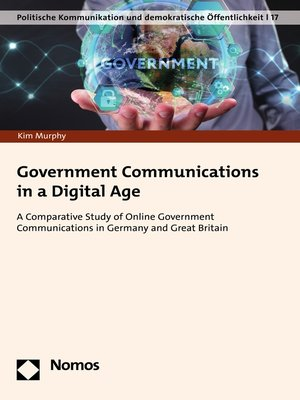 cover image of Government Communications in a Digital Age