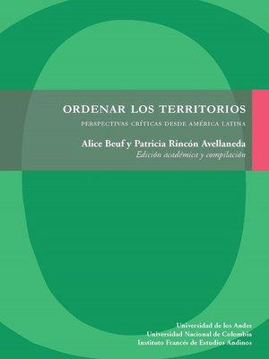 cover image of Ordenar los territorios