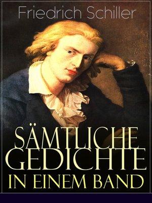cover image of Sämtliche Gedichte in einem Band