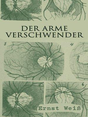 cover image of Der arme Verschwender