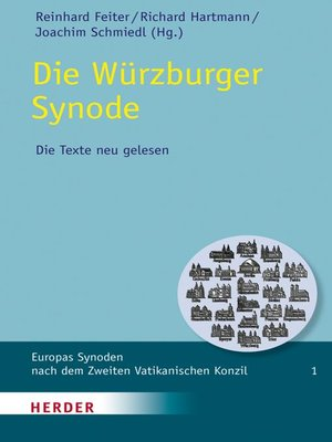 cover image of Die Würzburger Synode