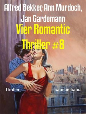 cover image of Vier Romantic Thriller #8