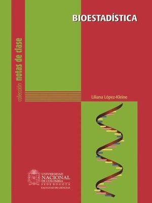cover image of Bioestadística