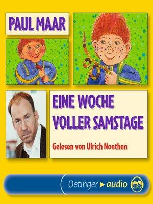 cover image of Eine Woche voller Samstage