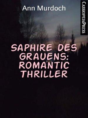 cover image of Saphire des Grauens