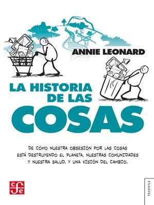 cover image of La historia de las cosas