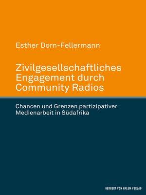cover image of Zivilgesellschaftliches Engagement durch Community Radios