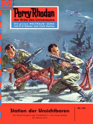 cover image of Perry Rhodan 141