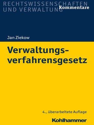 cover image of Verwaltungsverfahrensgesetz
