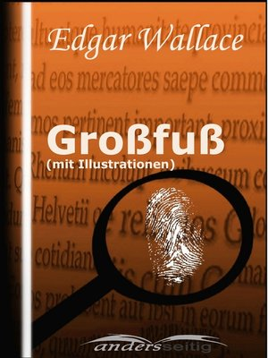 cover image of Großfuß (mit Illustrationen)