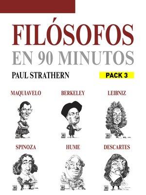 cover image of En 90 minutos--Pack Filósofos 3