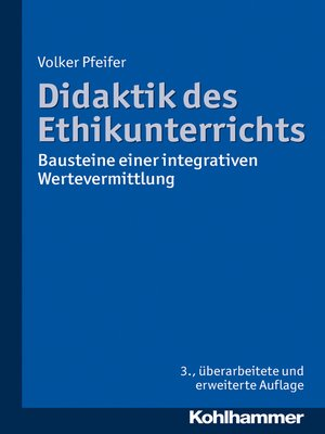 cover image of Didaktik des Ethikunterrichts