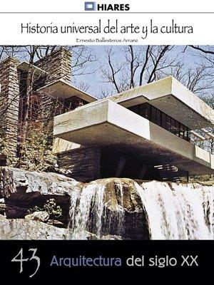 cover image of Arquitectura de siglo XX