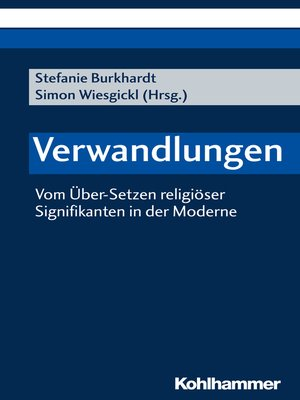 cover image of Verwandlungen