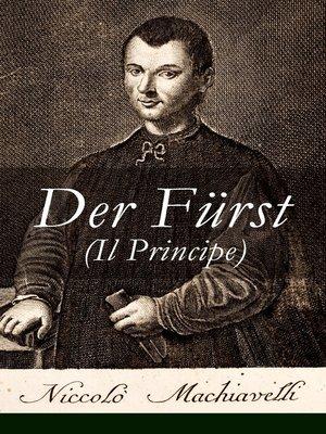 cover image of Der Fürst (Il Principe)