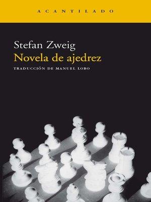 cover image of Novela de ajedrez