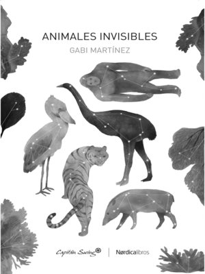 cover image of Animales invisibles