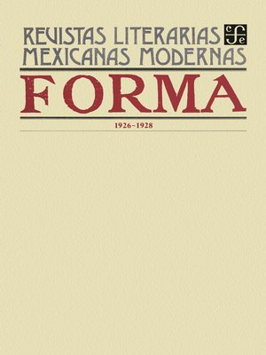 cover image of Forma, 1926-1928