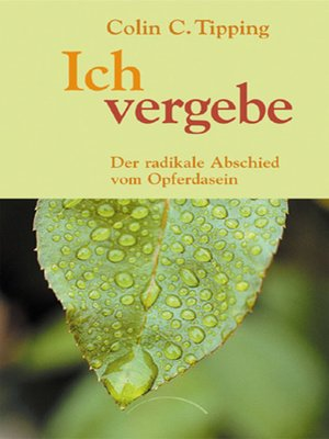 cover image of Ich vergebe