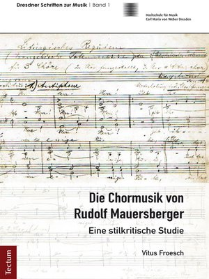cover image of Die Chormusik von Rudolf Mauersberger