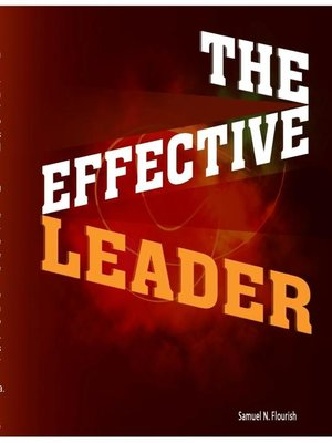 cover image of The Effective Leader