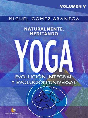 cover image of Naturalmente meditando YOGA