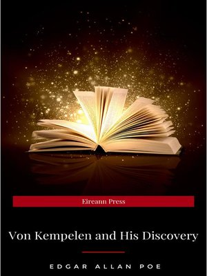 cover image of Von Kempelen and His Discovery