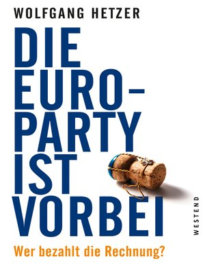 cover image of Die Euro-Party ist vorbei