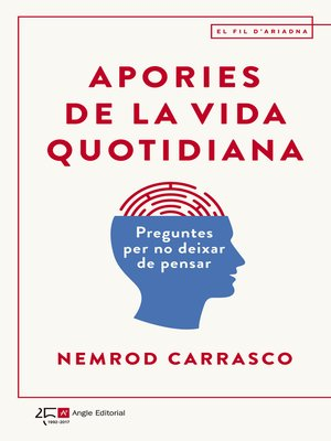 cover image of Apories de la vida quotidiana