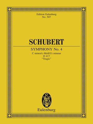 cover image of Symphony No. 4 C minor